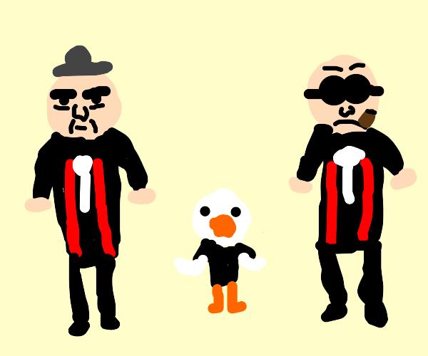 A goose in the mafia