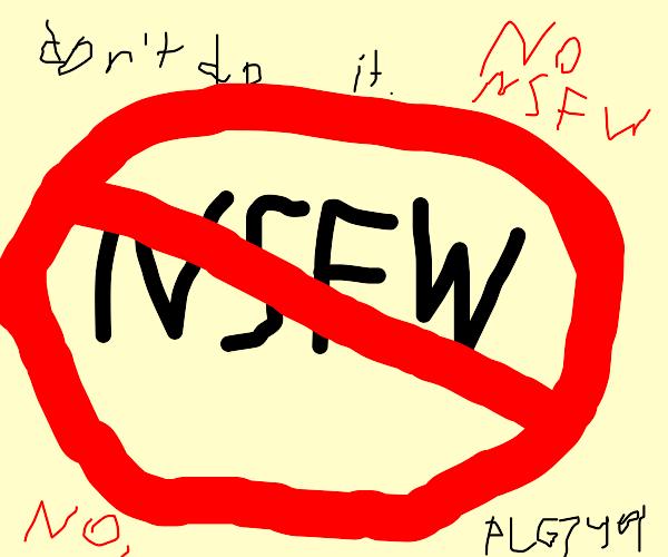 No NSFW please
