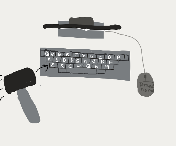 Keyboard smash