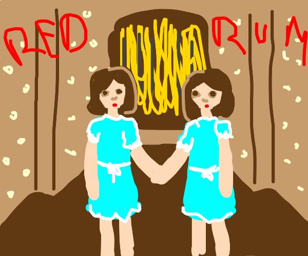 Twin girls from the Shining