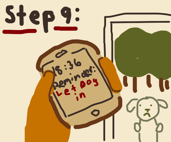 step 8??: remember what you forgot