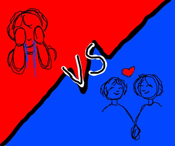 Sad vs in love