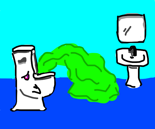 Toilet Overflows - Quite Toxic!