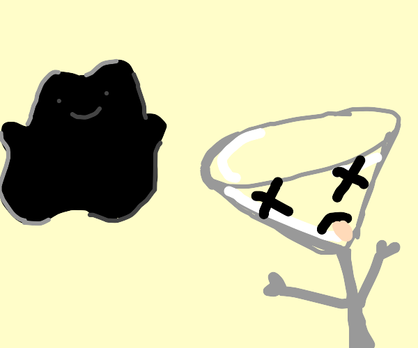 black ditto watches a martini die