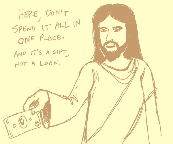 Jesus gives humanity it deserves