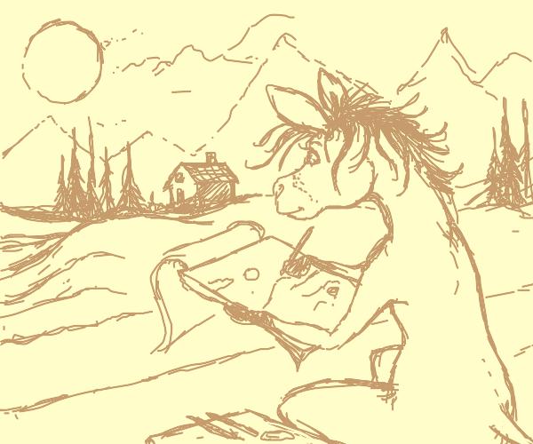 Donkey Sketching