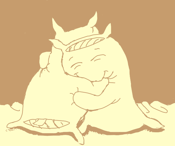 Sentient pillows hug