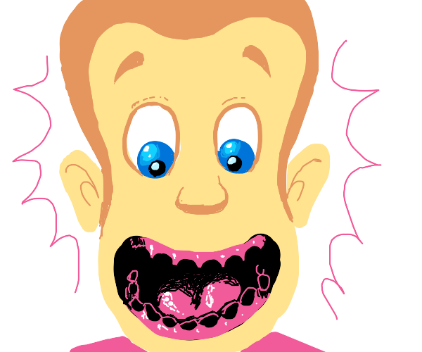 Jimmy neutron lost all his teeth