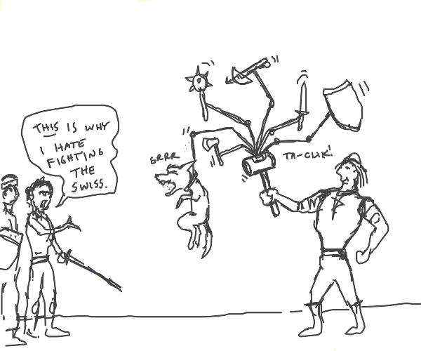 Super extra war hammer