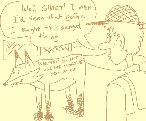 Reading a fox