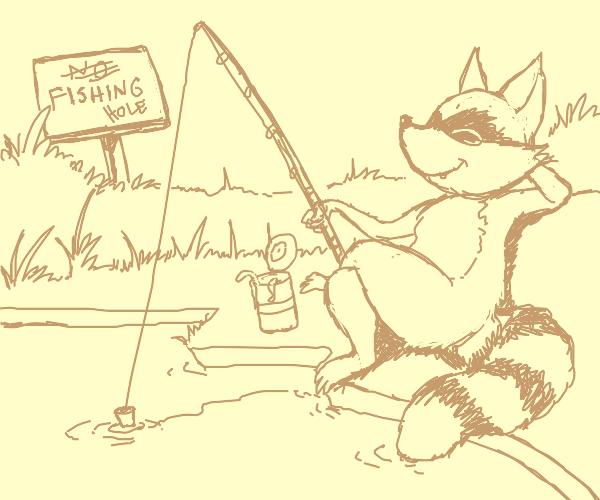 Fishing hole