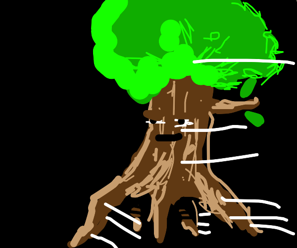 The trees do be walkin' doe
