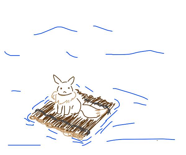 Eevee is lost at sea