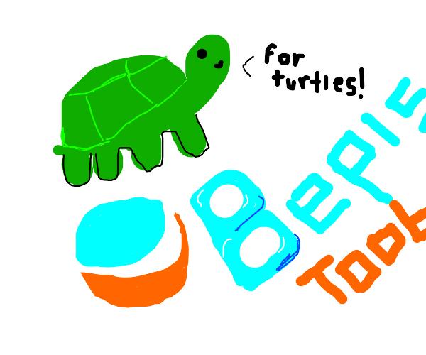 Bepistube for turtles