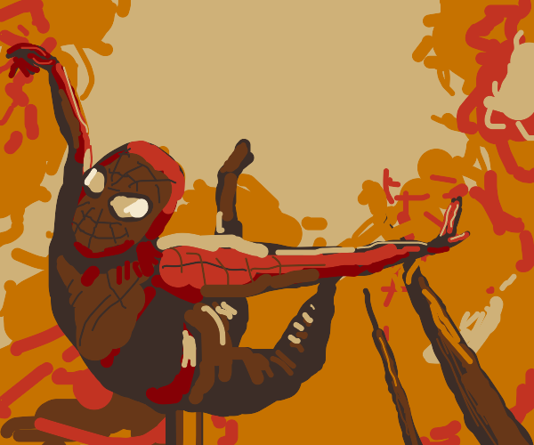 Spiderman in the Forest
