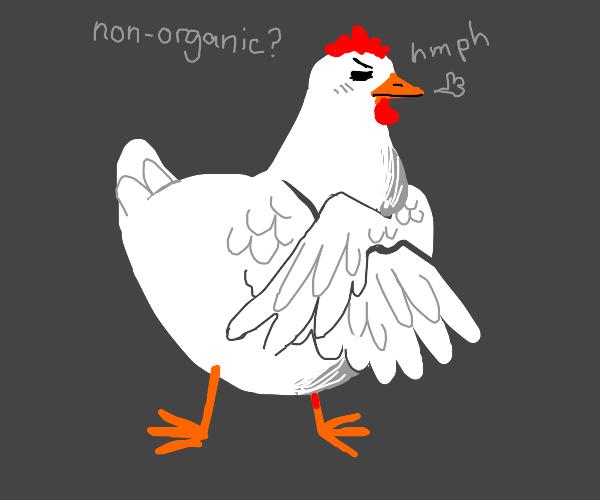 snob chicken