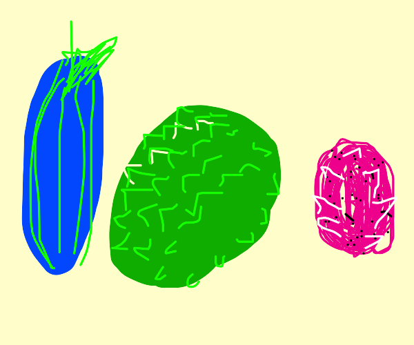 exotic fruits and veggies
