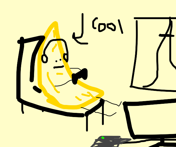 Cool Gamer Banana
