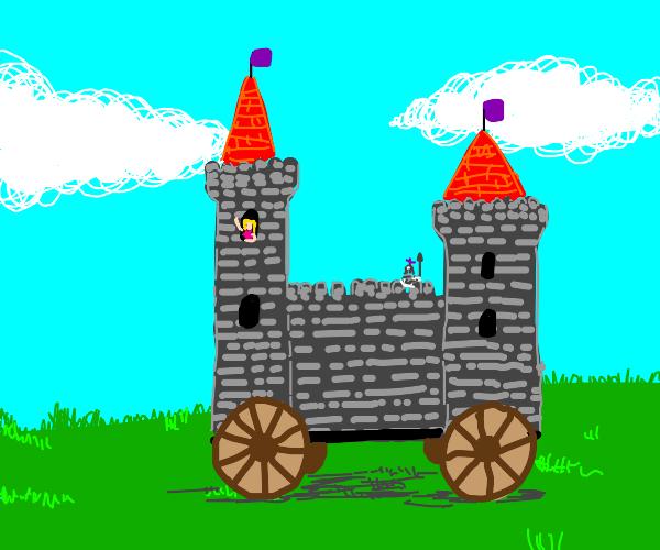 castle on wheels