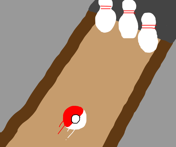 Pokeball Bowling