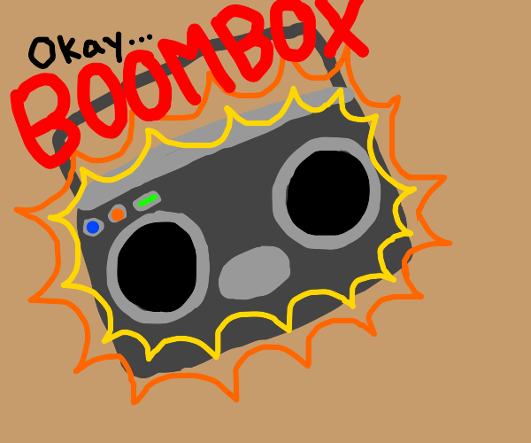 Ok boombox: the epic counterattack meme!