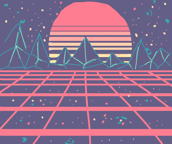 SYNTHWAVE IS OUTSIDE
