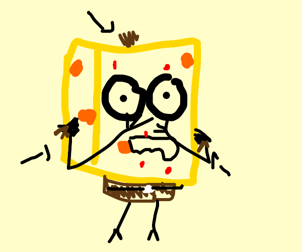 Spongebob during puberty