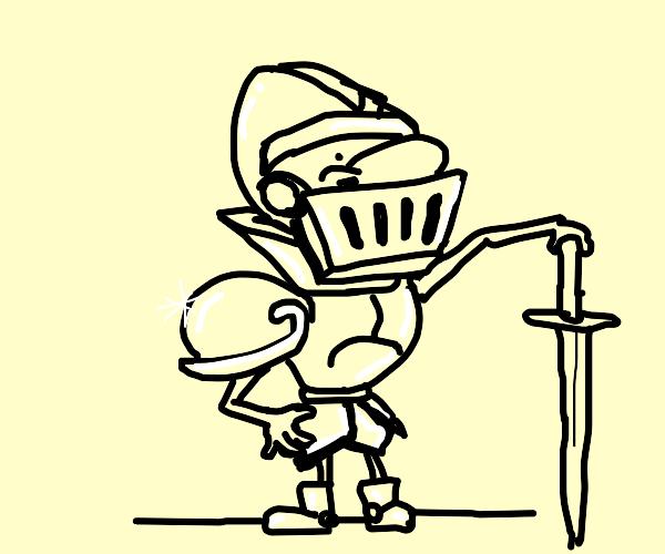 A knight!!!