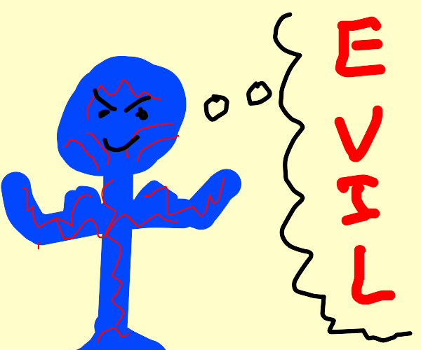 Drax the Destroyer thinks evil thoughts