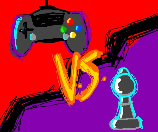 video games vs board games