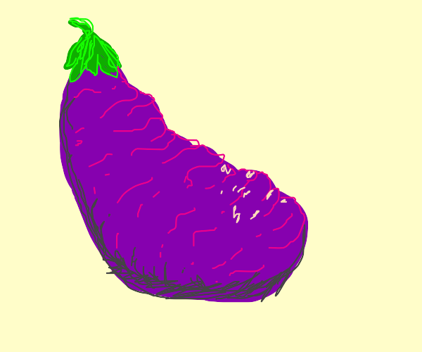 Wrinkly Eggplant