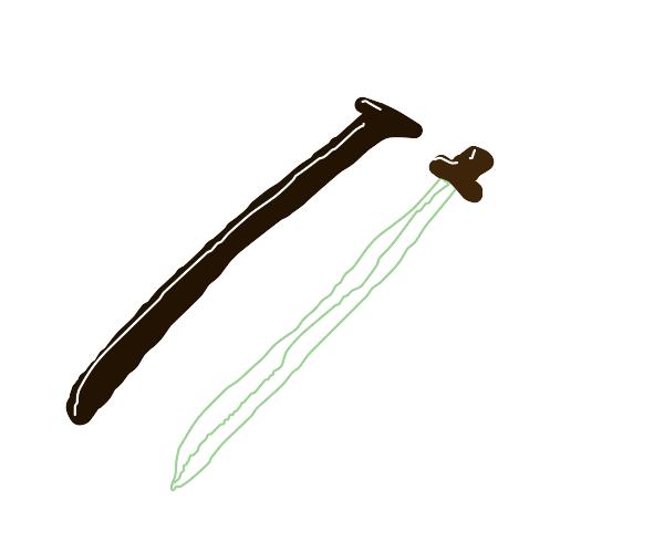 Katana and katana holder thing