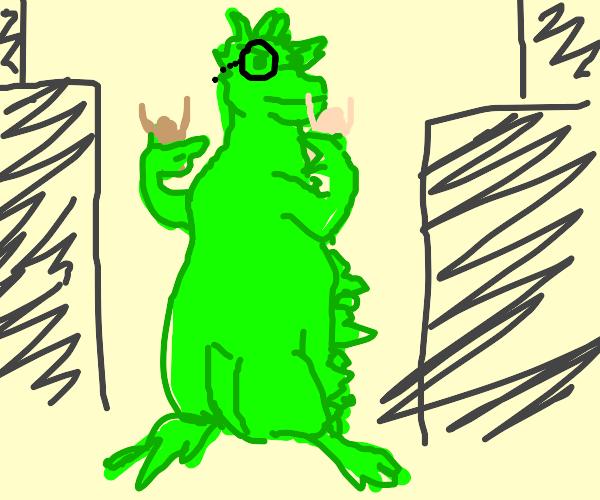 Ol' Godzilla