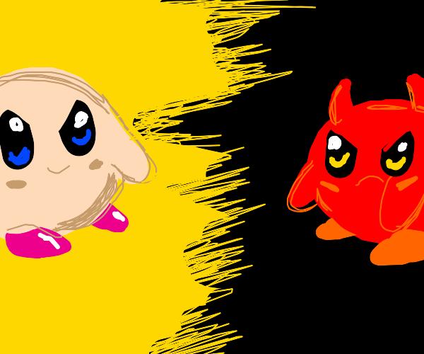 kirby vs his inner demon