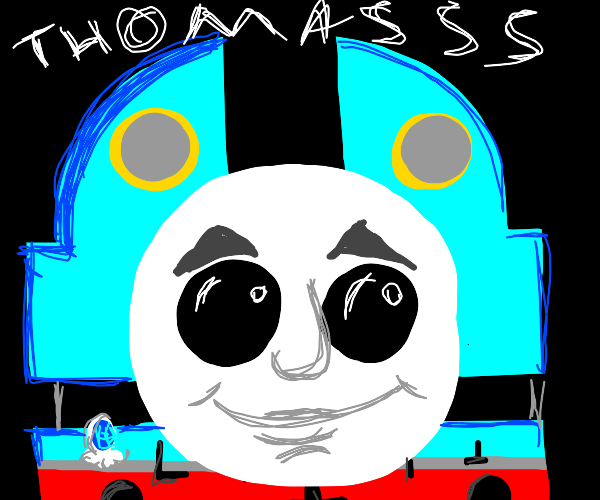 Thomas the train is possessed