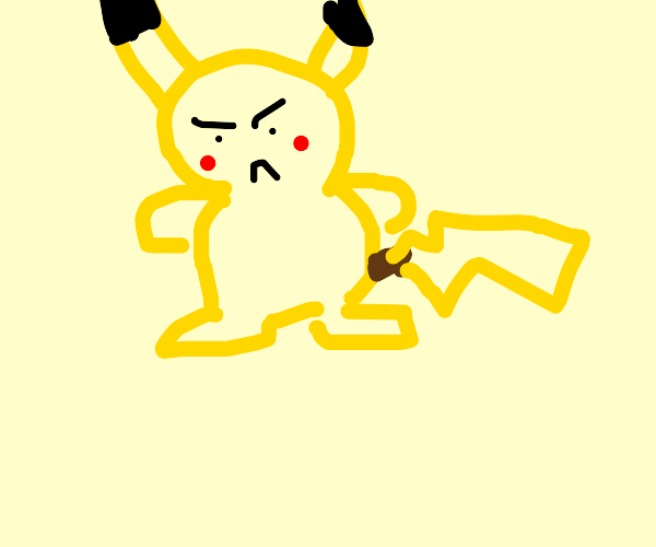 Pikachu is PISSED