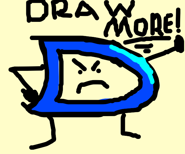 Drawception screaming at me