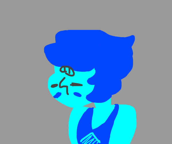 Lapis but her face is upside down (SU)