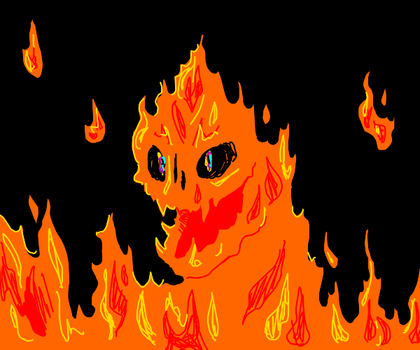 fire demon thing