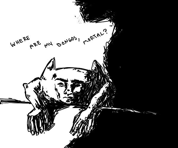 Bongo cat but he's human