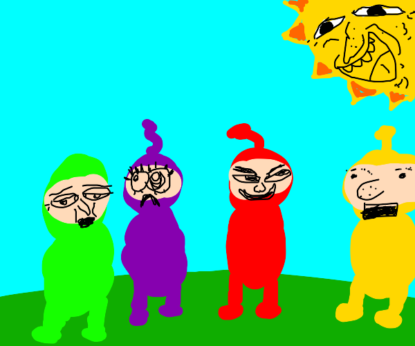 Cursed teletubbies