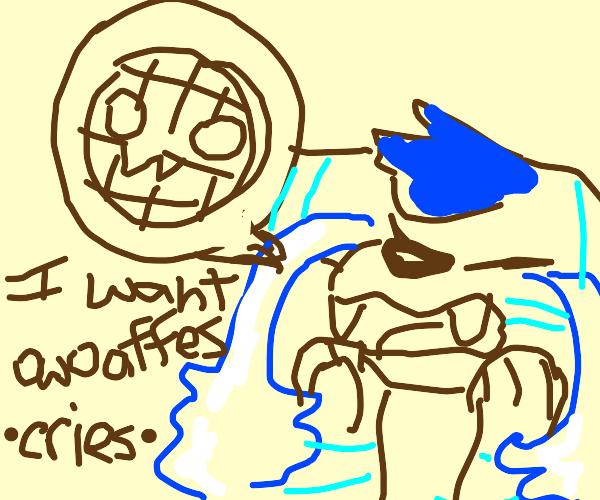 Furry cries for some owoaffles