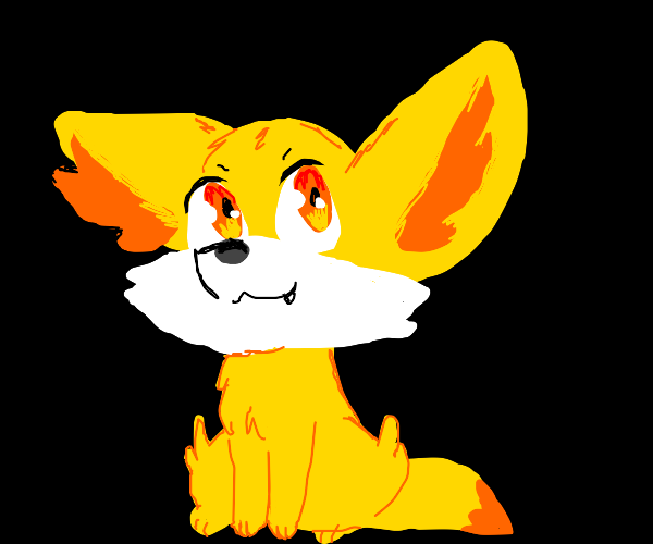 Fennekin looking at you