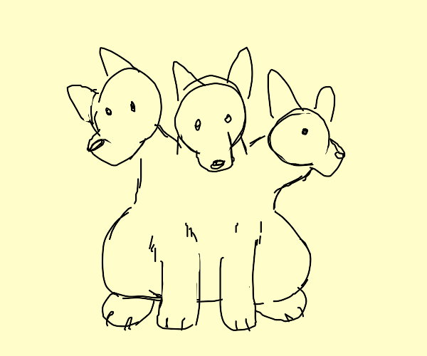 three headed dog