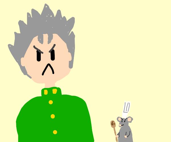 Angry Kokichi/Remy