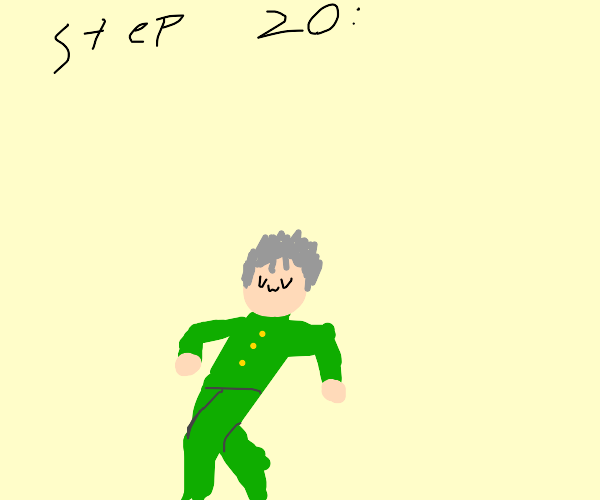step 19: Kokichi kills u