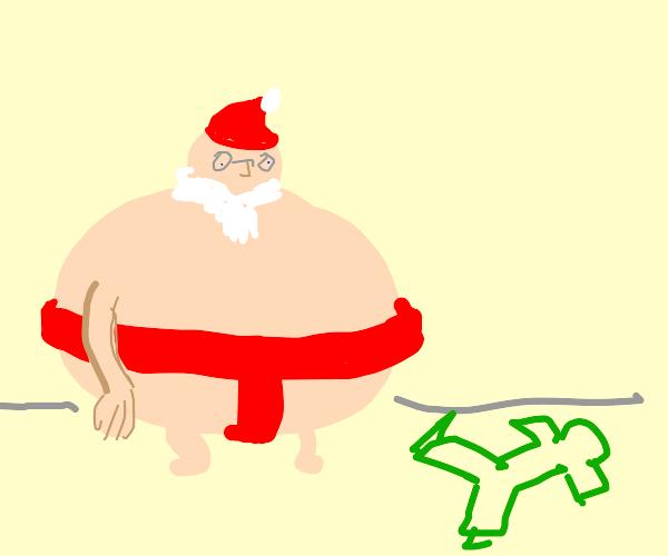 Sumo Santa