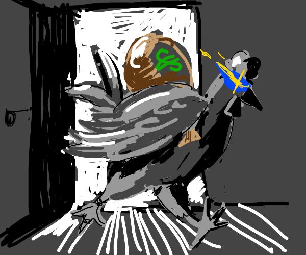 Chicken is a thief