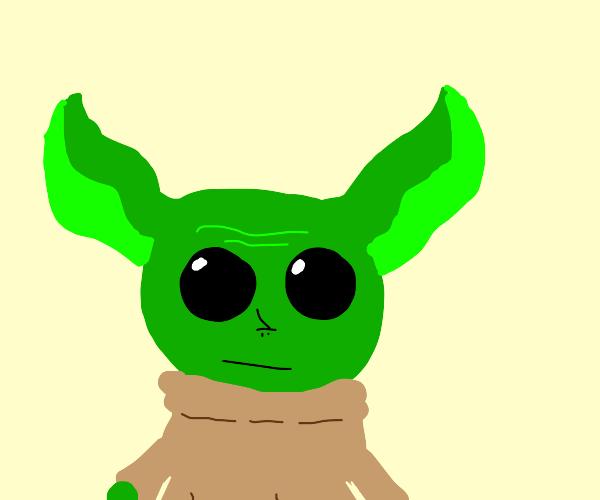 Just a cute baby Yoda (make it super cute!)