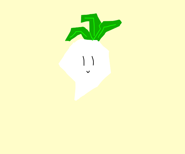 Polygonical Turnip person